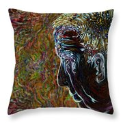 Priest Of Solace Throw Pillow