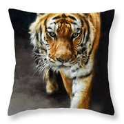 Primal Instincts Throw Pillow