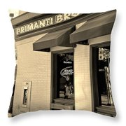 Primanti Brothers Pittsburgh  Throw Pillow