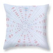Prime Number Pattern P Mod 40 Throw Pillow by Jason Padgett
