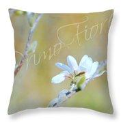 Primo Fiore Throw Pillow
