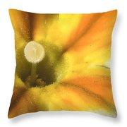 Primrose Closeup Throw Pillow