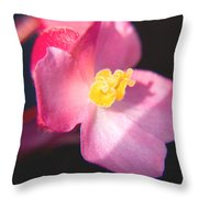 Bright Flower In Your Life Throw Pillow