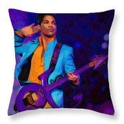 Prince 3 Throw Pillow