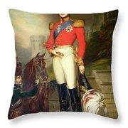 Prince Albert Throw Pillow by John Lucas