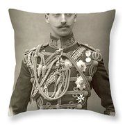 Prince Albert Victor Throw Pillow