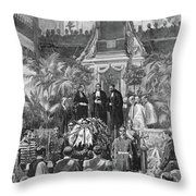 Prince Alfred (1874-1899) Throw Pillow