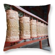 Prince Gong's Mansion 8621 Throw Pillow