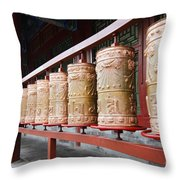 Prince Gong's Mansion 8622 Throw Pillow