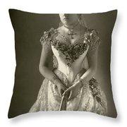 Princess Beatrice (1857-1944) Throw Pillow