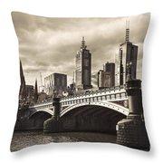 Princess Bridge Throw Pillow