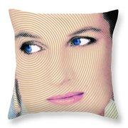 Princess Lady Diana Throw Pillow