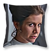 Princess Leia Throw Pillow