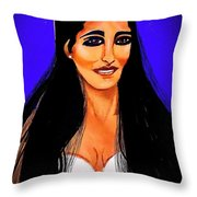Princess Leia So Beautiful Throw Pillow