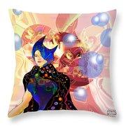 Princess Of Light Throw Pillow