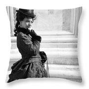 Princess Sissi Venezia Throw Pillow