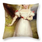 Princess Victoria Throw Pillow by Stephen Smith