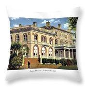 Princeton New Jersey - The Princeton Inn - 1925 Throw Pillow
