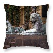 Princeton Tigers Throw Pillow