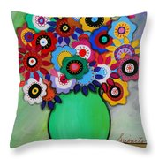 Prisarts Florals IIi Throw Pillow