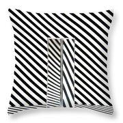 Prism Stripes 1 Throw Pillow