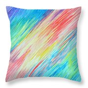 Prismatic Shore Throw Pillow