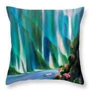 Prisms Throw Pillow
