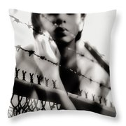 Prisoner Of My Own Throw Pillow