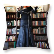 Prisoner Of The Arts Throw Pillow