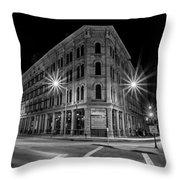 Pritzlaff At Night Throw Pillow