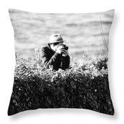 Privat Investigator  Throw Pillow
