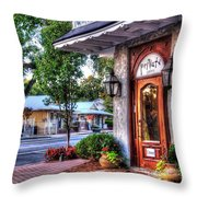 Private Gallery Throw Pillow