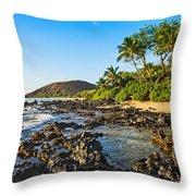 Private Paradise Throw Pillow