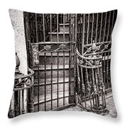 Private Stairway  Throw Pillow