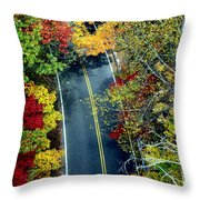 Private Thoughts Throw Pillow
