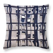 Private Worlds Throw Pillow