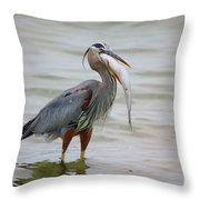Prize Catch Throw Pillow