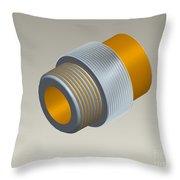 Pro-e Part Design Throw Pillow