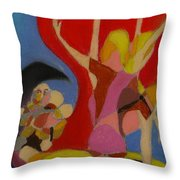 Pro Life Number 1 Throw Pillow by Michael Anthony Edwards