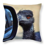 Proceed With Caution Throw Pillow