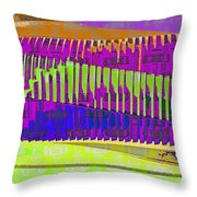 Production Line Throw Pillow