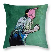 Professor Pyg Throw Pillow