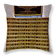 Profound Appreciation Throw Pillow