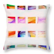 Profound Thought Segmented Throw Pillow