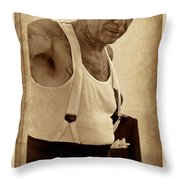 Prohibition Era Throw Pillow
