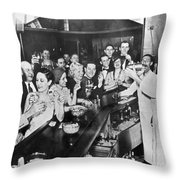 Prohibition Repeal, 1933 Throw Pillow