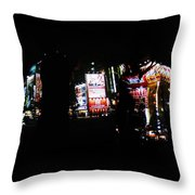 Projection - Body 1 Throw Pillow