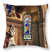 Projections Of Faith Throw Pillow