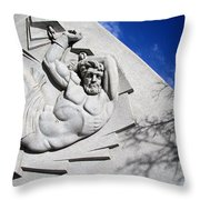Prometheus In A Circle Of Bondage Throw Pillow