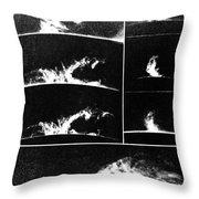 Prominences On The Sun 1937 Throw Pillow